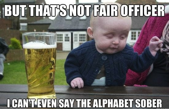 Baby Memes: but thats not fair officer