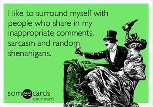 Funny Ecards - i like to surround myself