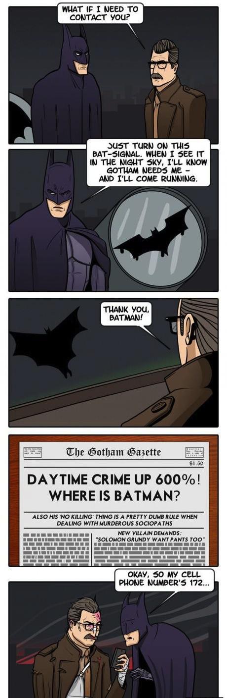 Funny Memes - thanks batman