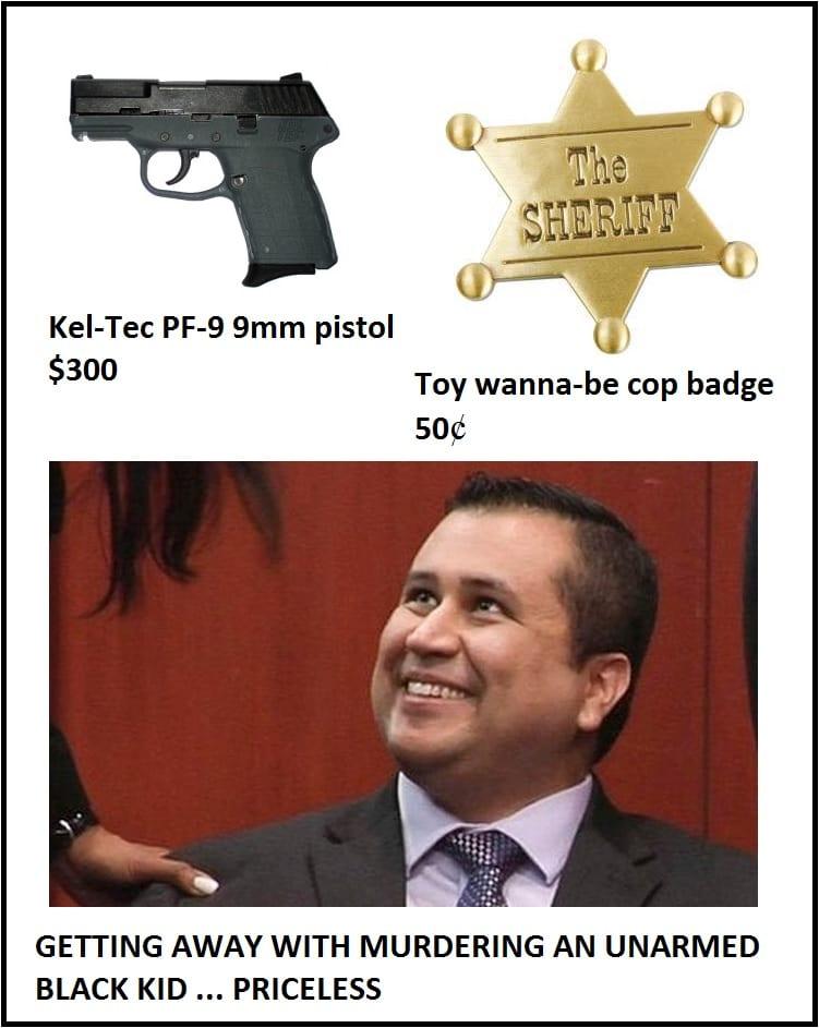 Funny Memes - zimmerman priceless