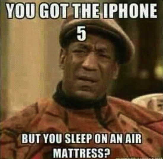 Funny Memes: bill cosby iphone 5