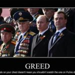 Political Memes - putin greed