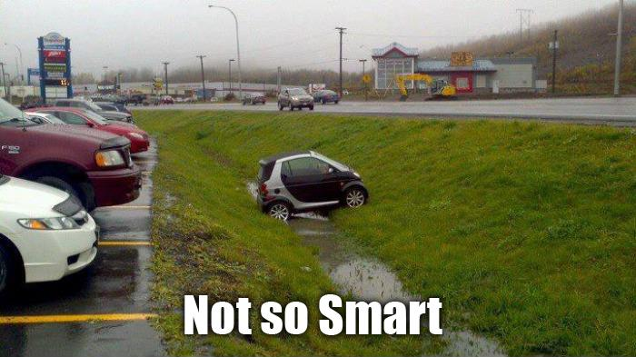Funny Cars Memes - not so smart