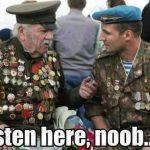 Funny Memes - listen here noob