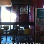 Funny Memes - talk about a creepy clown
