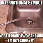 Funny Memes - the international symbol for
