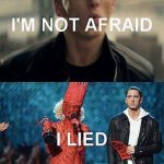 Funny Memes -im not afraid