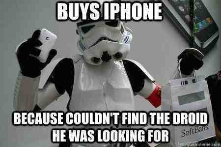 Funny Memes: buys iphone