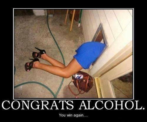 Funny Memes - congrats alcohol