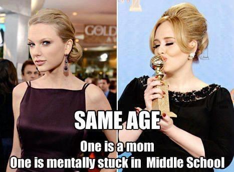 Funny Memes - same age