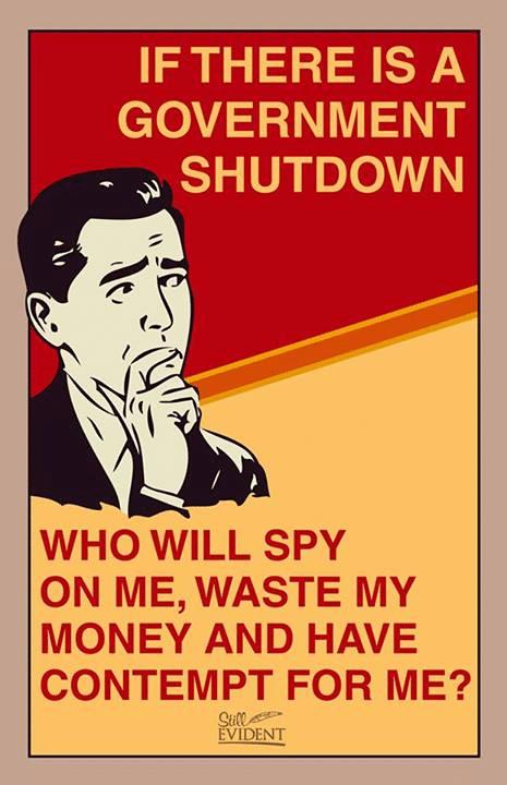 Funny Memes - shutdown memes 5