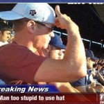 Funny Memes - too stupid to use hat