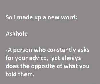 Funny Memes: askhole