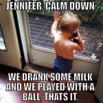 Funny Baby Memes - jennifer calm down