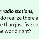 Funny Ecards - dear radio stations