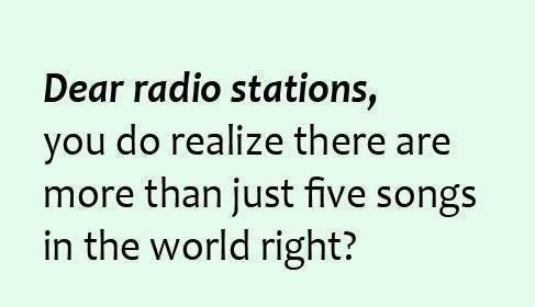 Funny Ecards - dear radio stations