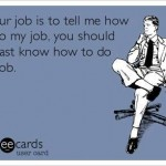 Funny Ecards - if your job