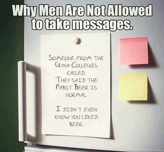 Funny Memes - men taking messages