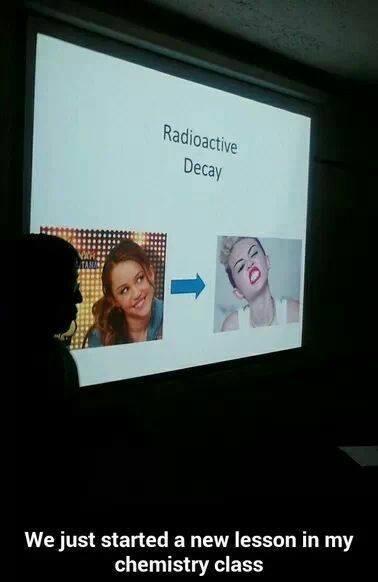 Funny Memes - radioactive decay