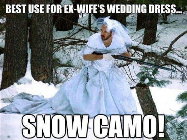 Funny Memes - snow camo