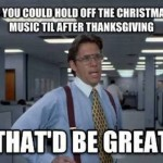 Funny Memes: christmas music
