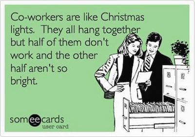 Funny Ecards: christmas lights