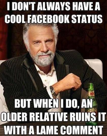 Funny Memes - cool facebook status