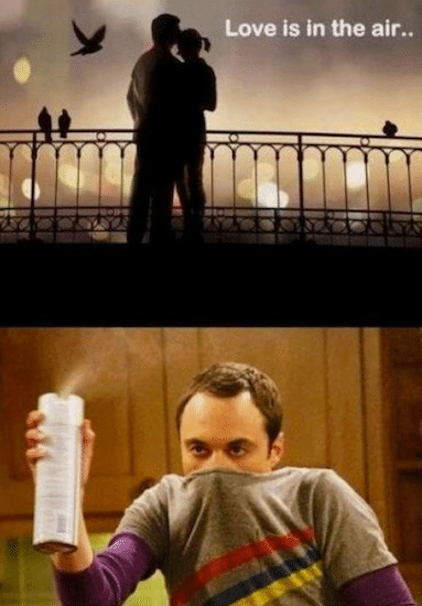 Funny Memes - love is in the air