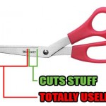 Funny Memes - science of scissors