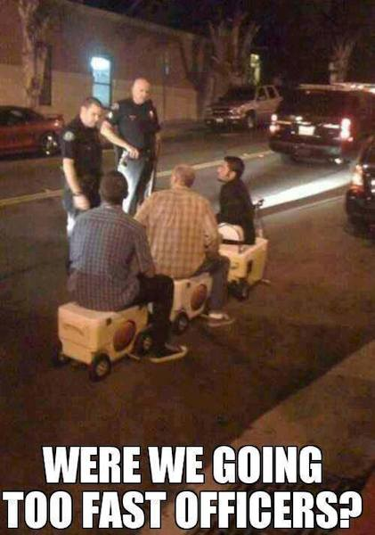Funny Memes - were we going too fast