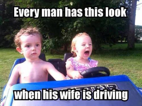 Funny Baby Memes - wives and driving