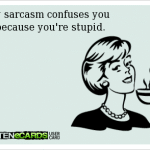 Funny Memes - Ecards - youre stupid