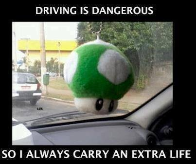 Funny Memes - driving is dangerous