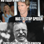 Funny Memes - finishes speech