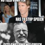 Funny Memes - finishes speech