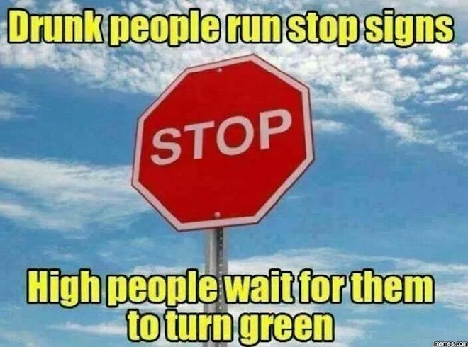 Funny Memes - stop signs