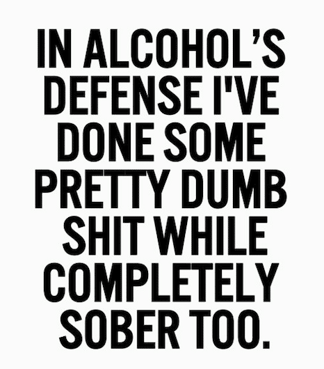 Funny Memes -in alcohols defense