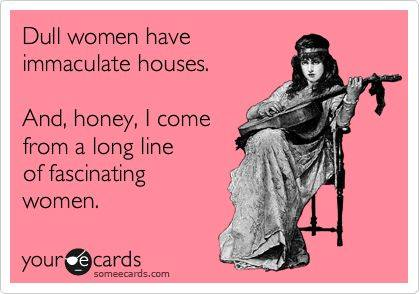 Funny Ecards - dull women