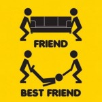 Funny Memes - friend vs best friend
