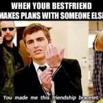 Funny Memes - friendship bracelet