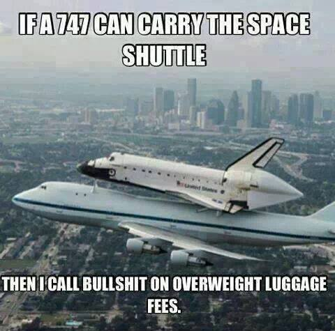 Funny Memes - luggage fees