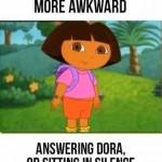 Funny Memes - whats more awkward