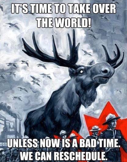 Funny Memes: canadian invasion