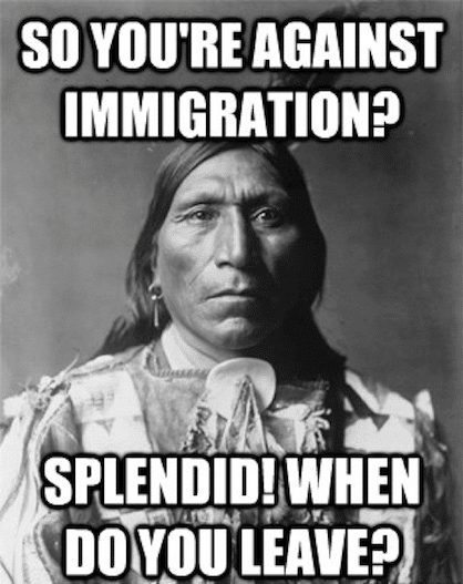 Political Memes: against immigration