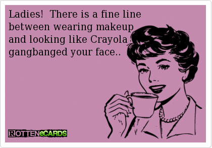 Funny Ecards: a fine line