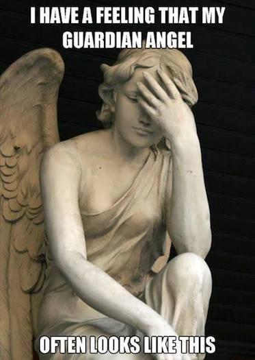 Funny Memes - guardian angel
