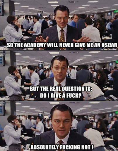 Funny Memes - leo gets snubbed