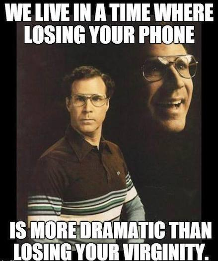Funny Memes - losing you phone