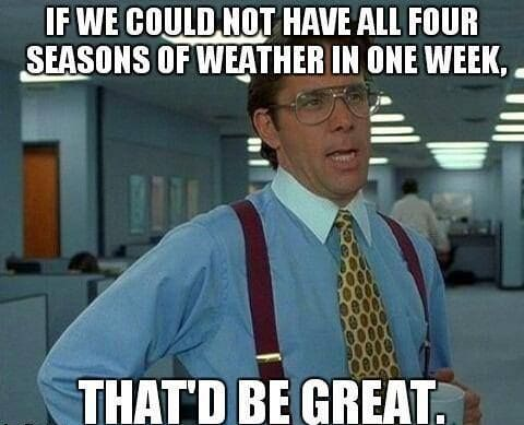 Funny Memes: all four seasons