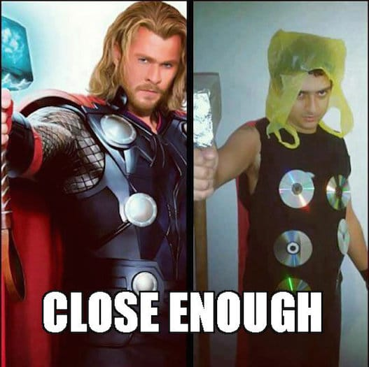 Funny Memes: close enough